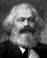 Karl Marx, philosophe et économiste allemand, auteur du 'Capital' et du 'Manifeste du Parti Communiste'
